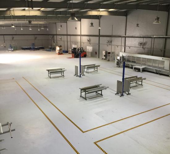 Glassline's new factory in UAE